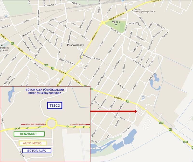 püspökladány térkép  püspökladány térkép